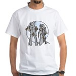 Cowboy moon White T-Shirt