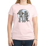 Cowboy moon Women's Light T-Shirt
