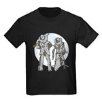 Cowboy moon Kids Dark T-Shirt