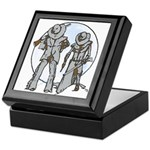 Cowboy moon Keepsake Box