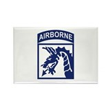 18th Airborne Corps Rectangle Magnet (10 pack)