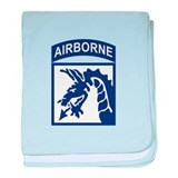 18th Airborne Corps baby blanket