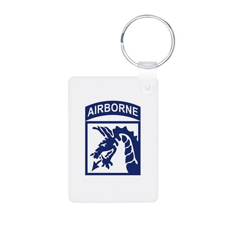 18th Airborne Corps Aluminum Photo Keychain