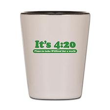 Cute Marijuana legalization Shot Glass