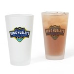 Ben & Hurley's Spring Water Drinking Glass