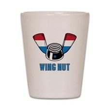 Wing Nut Shot Glass