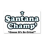 'Champ' so Crisp Car Magnet 20 x 12
