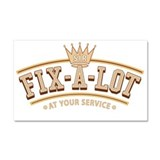 Sir Fix-A-Lot Car Magnet 20 x 12