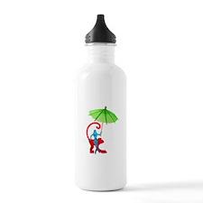 Cocktail Mermaid Monkey Water Bottle