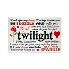 Twilight Quotes Rectangle Magnet (10 pack)