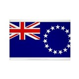 Cook Islands Flag Rectangle Magnet