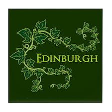 Edinburgh Green Tile Coaster