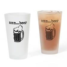 Unique Beers Drinking Glass