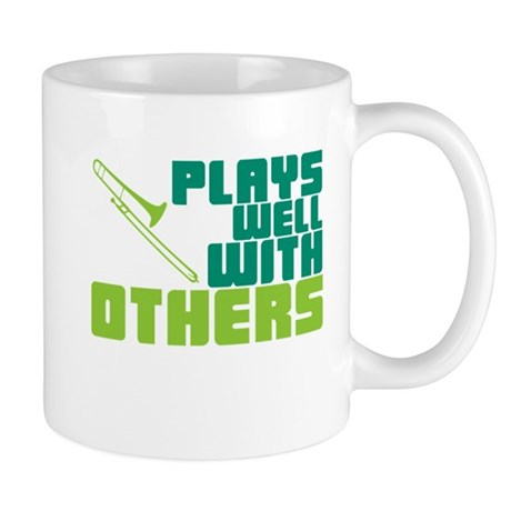 Trombone Plays Well Mug