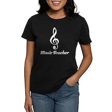 Fun Treble Clef Music Teacher Gift Tee