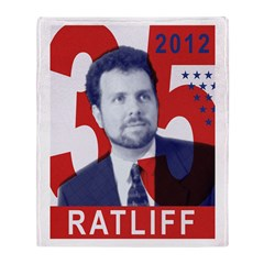 RATLIFF FOR PRESIDENT Throw Blanket