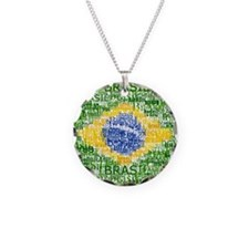 Textual Brasil Necklace