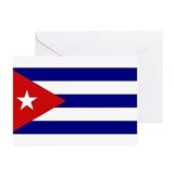 Cuban Flag Greeting Cards (Pk of 10)