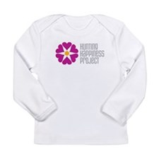 Hunting Happiness Project Long Sleeve Infant T-Shi