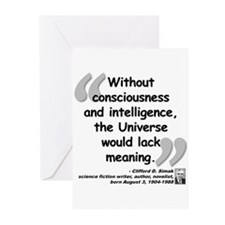Simak Universe Quote Greeting Cards (Pk of 20)
