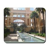 Fountain Garden Mousepad
