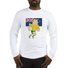 Rugby Player Australia Long Sleeve T-Shirt