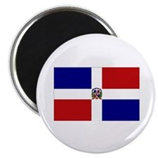 "Dominican Republic Flag 2.25"" Magnet (10 pack)"