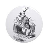 Rabbit Ornament (Round)