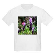 Purple Lavender Flower T-Shirt