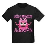 Little Monster Addison Kids Dark T-Shirt