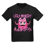 Little Monster Addison Kids Dark T-Shirt