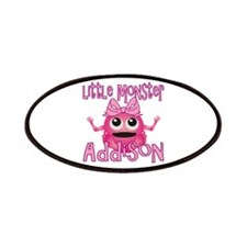 Little Monster Addison Patches
