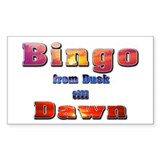 Bingo from Dusk till Dawn Decal