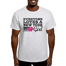 Everyone Loves a New York Girl T-Shirt