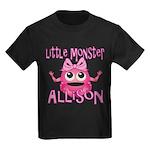 Little Monster Allison Kids Dark T-Shirt