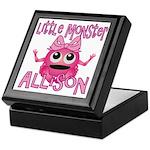 Little Monster Allison Keepsake Box