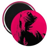 "Unique Natural horsemanship 2.25"" Magnet (100 pack)"