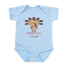 Daddy's Lil' Turkey Infant Bodysuit