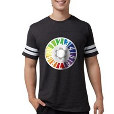 5-Ball Juggling (White Text) T-Shirt