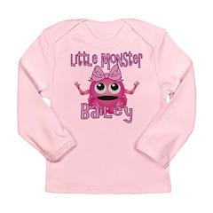 Little Monster Bailey Long Sleeve Infant T-Shirt