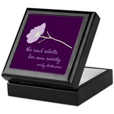 Soul Selects Plum Keepsake Box