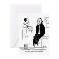 Doc and Drac Greeting Card