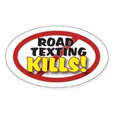 Anti-Texting Decal