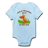 Born Year of The Dragon 2012  Baby Onesie