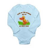 Born Year of The Dragon 2012  Long Sleeve Onesie