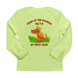 Born Year of The Dragon 2012 Long Sleeve Infant T-