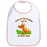 Born Year of The Dragon 2012 Bib