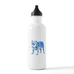 English Bulldogs 2 Water Bottle