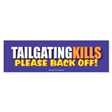 Unique Tailgate Bumper Sticker