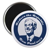 Ron Paul Republic Circle Magnet